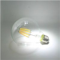 8W Edison vintage Lamp G95 LED Filament Bulbs