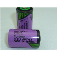 PLC battery TADIRAN TL-5902 3.6v 1/2AA size PLC lithium/primary battery