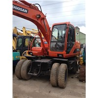 Used Wheel Excavator Doosan DH150W-7
