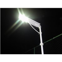 100w solar street light CE ROHS integrated solar led garden light all in one solar street light