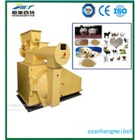 CE ISO SGS approved ring die feed pellet machine by HMBT company