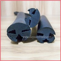 Car Glass Guide Rubber Seals Strip/EPDM Glazing Door Seal/Windshields Seal Strip