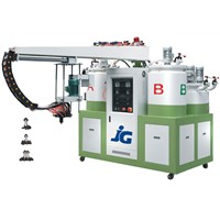Double color PU Shoe Making Machine