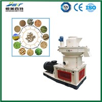 wood sawdust pellet making line by HMBT company