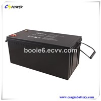 Manufacturer Gel Battery 12V200ah with Top Quality 3years Warranty