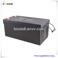Top Quality Rechargeable Battery 12V250ah Supplier with 3years Warranty