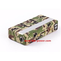 K3 14000mAh multi-function Jump starter Automobile car booster portable Laptop/Mobile Army green