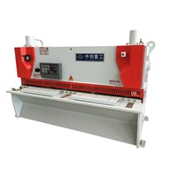 Automatic hydraulic guillotine cutter metal plate guillotine shearing machine price
