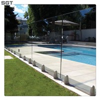 Toughened Glass for swimming pool fence