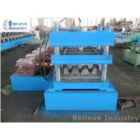 3-Wave Guardrail Roll Forming Machine