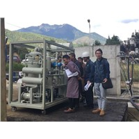 High Double Stage Vacuum Transformer oil purifier filration filtering plant ZYD