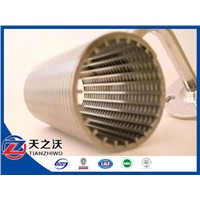 168mm Diamater stainless steel Johnson type water screens(factory)