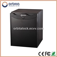 Black & Tempered glass Absorption Minibar refrigerator