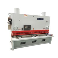 Metal sheet hydraulic shearing guillotine plate 10x2500 series shearing machine