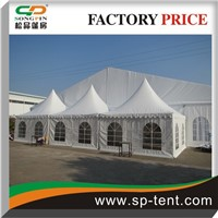 combination tent with curtains and linings for outdoor events