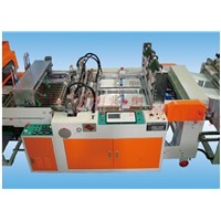 Full-Automatic Double-Line Hot-Sealing & Hot-Cutting T-Shirt Bag Bag Making Machine