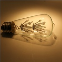 AC110V AC220V 2W LED Star Clear ST64 Vintage LED Bulb for Decoration