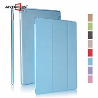 New arrival  Silk Pattern PU smart cover for iPad pro With Auto Sleep & Wake up 12.9'' case
