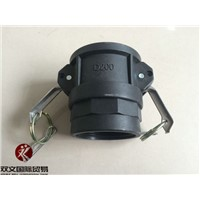 PP material camlock couplings part Type D