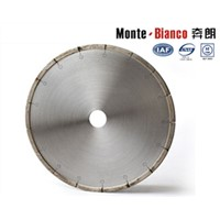 Welded diamond cutting disc Monte-Bianco saw blade for stone cutting