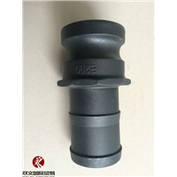 black PP camlock couplings type E