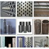 Round crater shaped staggered perforated metal/aluminum staggered perforated metal