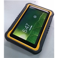 7 inch Android 3G barcode scanner fingerprint reader data collection  tablet PDA