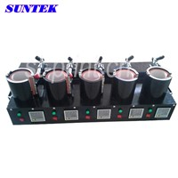 Multi-Location Vertical Baking Cup Machine for Five in One (ST-M19)