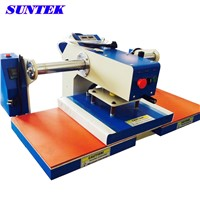 Pneumatic Press Double Stations Heat Press Machine for T-Shirt Transfer