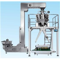 food packaging machine system for packing frozen pet food