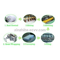 A4 size paper cutting and packing machine