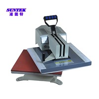Rotary Swing Heat Press Machine Logo Heat Transfer Printing Machine