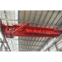 double girder overhead cranes in workshop