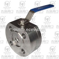 Split Body Wafer Ball Valve