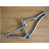 customize titanium suspension MTB frame titanium bike frame for 26er or 29er