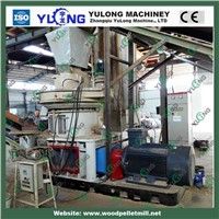 flat die straw pellet mill/sawdust pellet machine
