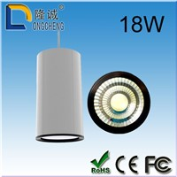 LED light led spotlight suspended 18W COB white