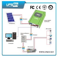 MPPT Solar Charge Controller with Timer and Battery Type Selection