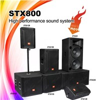 STX800 Series Pro Speaker Box, Outdoor Portable Speaker, PA System