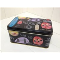 gift tin rectangular