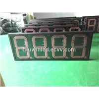 Gas station Led  oil price signs/LED Petrol price sign