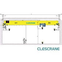 CHS Series single girder overhead mobile crane US $1500-15000 / Set ( FOB Price)