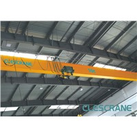 CHS Series top running single girder bridge crane with electric hoist trolley