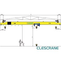 CHX Series under running single girder bridge crane