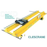 CWD Series Double Girder Top Running Overhead Cranes 160/30 Ton