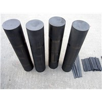 Carbon graphite rod for heating element