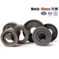Continuous Rim Diamond Cylindrical wheel Monte-Bianco diamond wheel tools