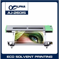 ALPHA ECO Solvent Printer Double Head AJ-2601(S)