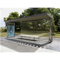 Bus shelter with Stainless steel (HS-BS-013)