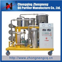 Lube Oil/Hydraulic Oil Filtering Machine With Stainless Steel Material